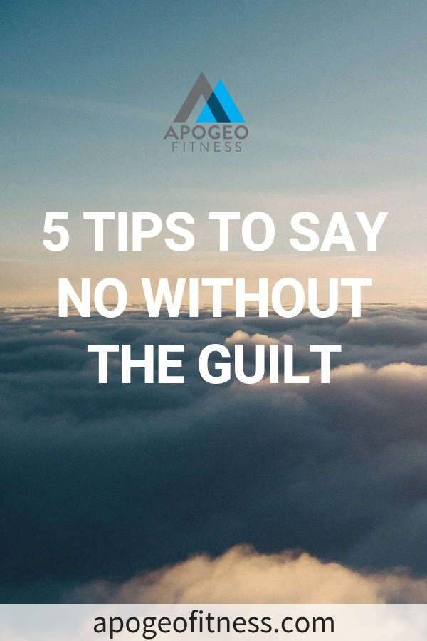 How can you say no without feeling guilty? You'll want to read this to find out.