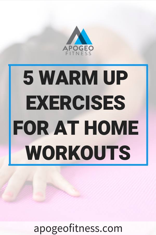 Want to reduce your chances of a nagging muscle injury? Make sure you get a proper warm up in before your workouts. Short on time? Try these warm up exercises that will get your body ready for action. #warmup #workouts